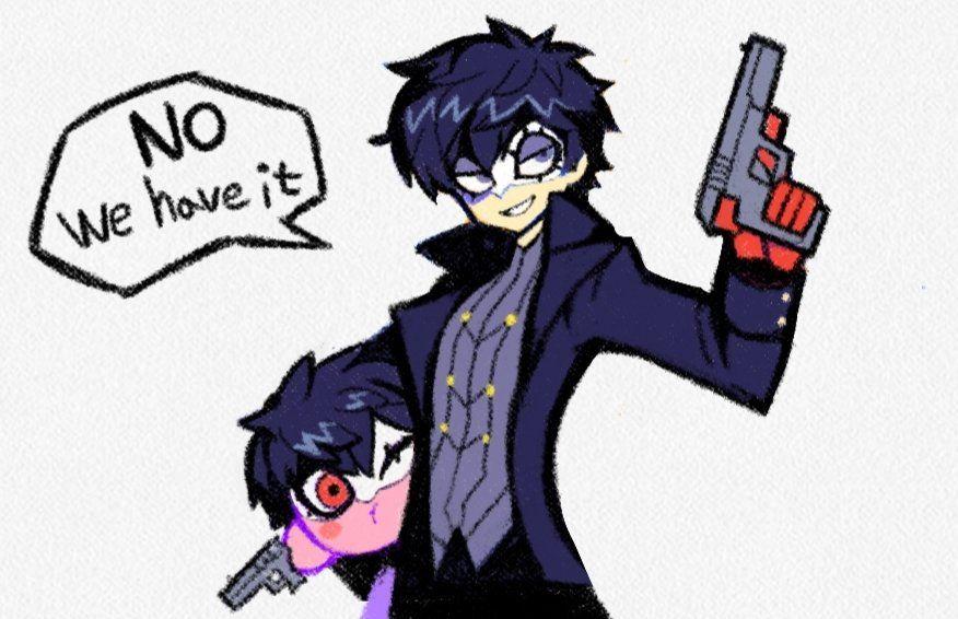 Pin on Joker/Ren (Smash Ultimate)