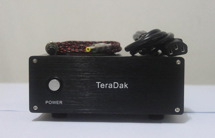 TeraDak DC-50W 12V/4 5A power source PSU Linear Power Supply