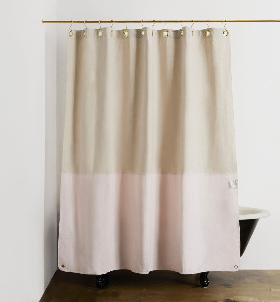 Master Bathrooms This 100 GOTS Certified Organic Cotton Canvas Curtain