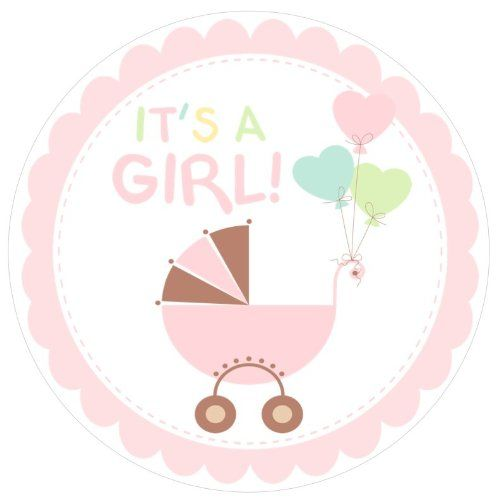 Baby Shower Its A Girl Free Clip Art | idee | Pinterest ...