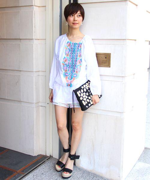 5b29eb43147b1 気になる体のラインも上手にカバー♡春夏ファッションのチュニックコーデ ...