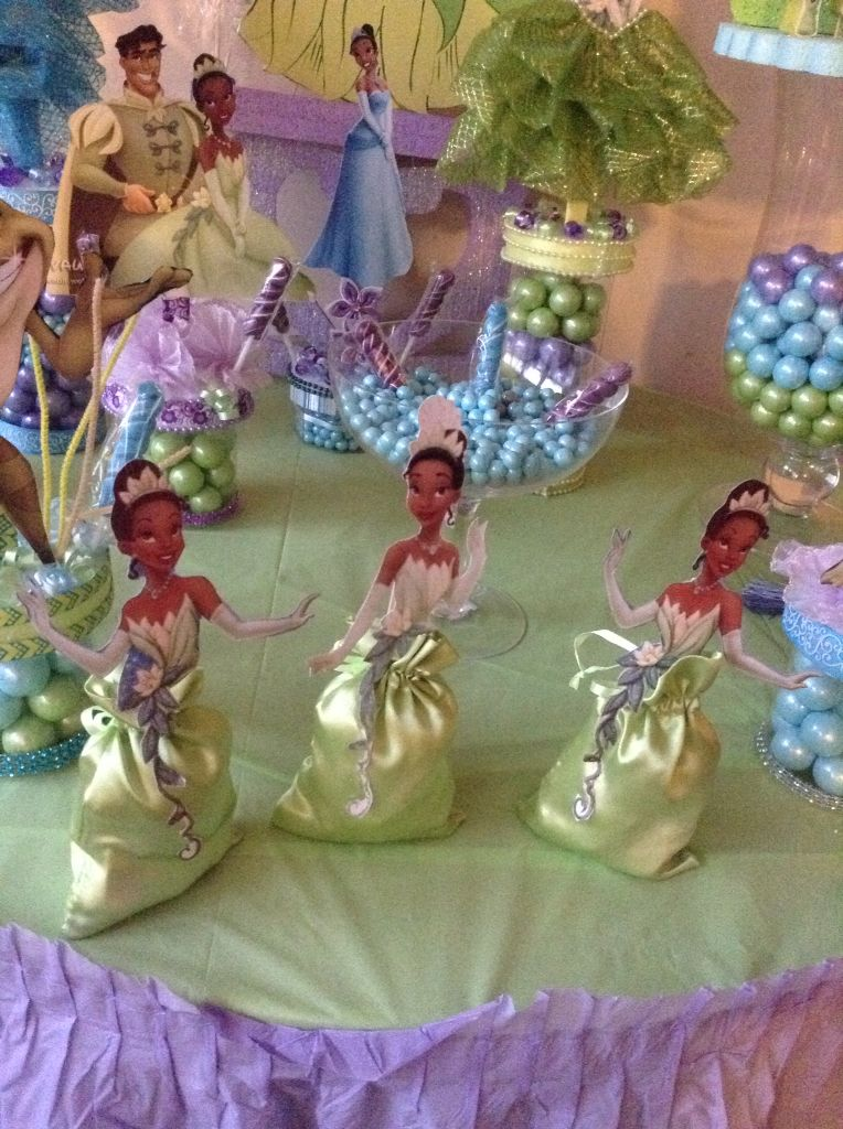 Princess Tiana Party Favors Exquisite Creations In 2019 Princess