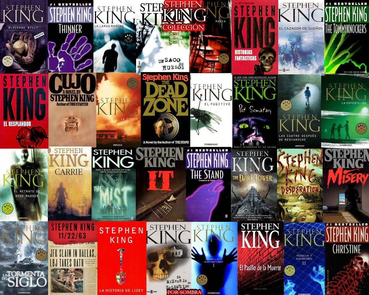 Libros, Epub Y Revistas: Coleccion Stephen King  Epub  Pdf + De 100