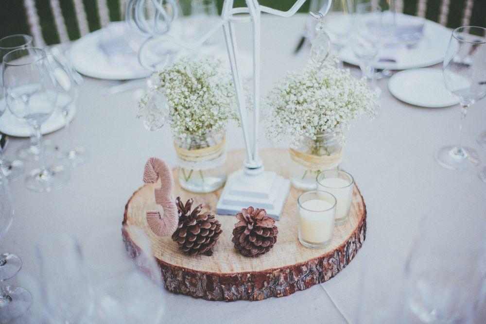 #decoracion #boda #rustica #centro de la #mesa #denia #alicante #casa #santonja…