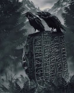 Image of Huginn and Muninn