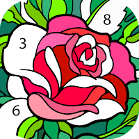 Happy Color Color By Number Mod Apk Standalone Android Package Unlimited Tips Ad Free Unlock Coloring Apps Happy Colors Coloring Books