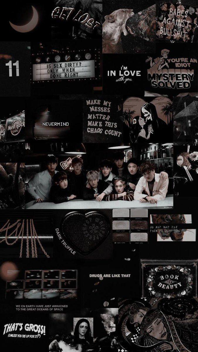 Aesthetic Wallpaper Exo Exo logo wallpapers, Exo