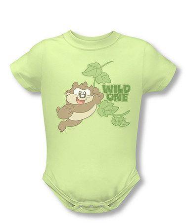 Love this Green 'Wild One' Bodysuit - Infant on #zulily! #zulilyfinds