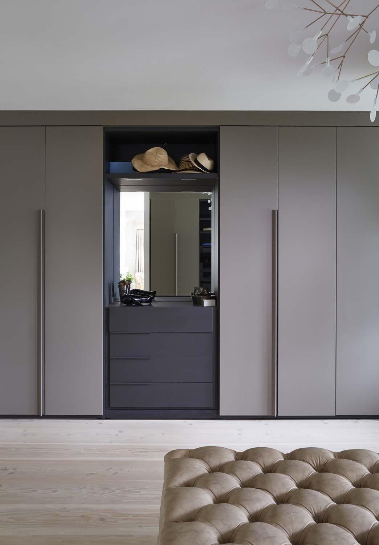 Bright And Airy Villa With Scandinavian Touches In Surrey England Bright England Scandinavian Wardrobe Door Designs Cupboard Design Modern Bedroom Design