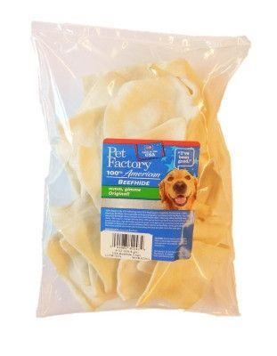 Pet Factory USA Original Beefhide Beef Chips Dog Chews 8oz