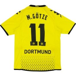 2011-12 Dortmund Home Shirt M.Götze #11 L.Boys