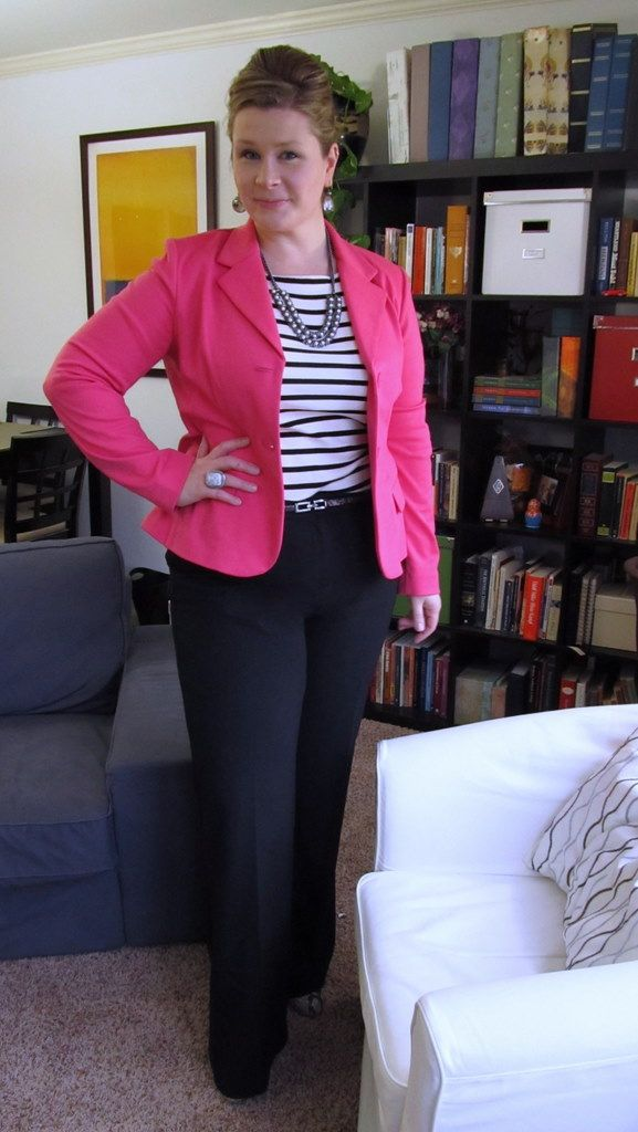 43c3a9d0228 I blame Sal from Already Pretty and one of her Insomniac Sale Picks posts  for making me think I needed a bright-colored blazer. And then .