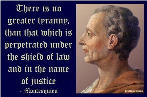 Tyranny Montesquieu Tyranny