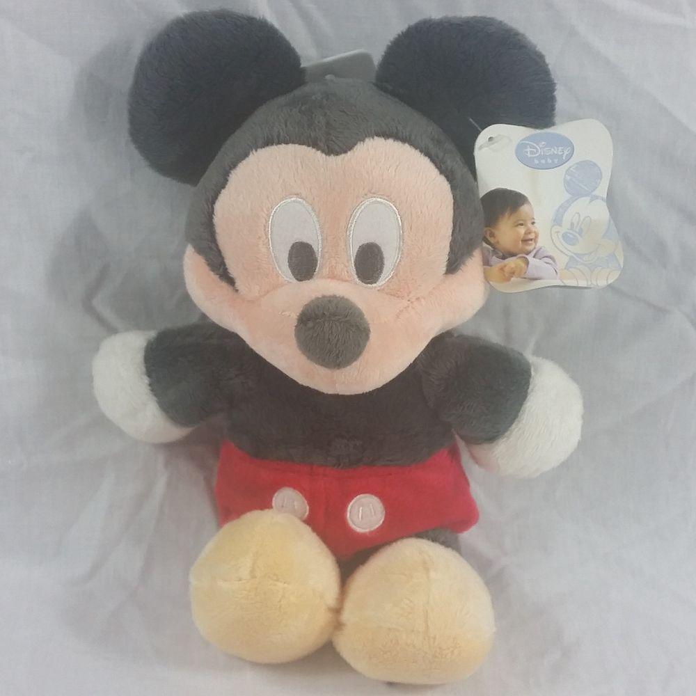 Predownload: Disney Baby Mickey Mouse Plush Stuffed Animal Soft Toy Classic Red Shorts Disney Mickeymouse Mickey Disney Soft Toy Animals Plush Stuffed Animals Pet Toys [ 1000 x 1000 Pixel ]