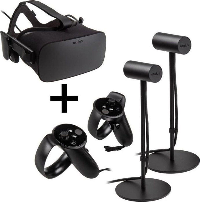 Oculus Rift Touch With 2 Sensors Oculus Virtual Reality Headset Oculus Rift
