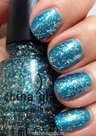 China Glaze Bells Will Be Blinging over So Blue Without You