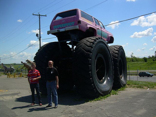 This Is The Real Super Monster Truck Biggest In The World Jacked Up Trucks Monster Trucks Big Monster Trucks