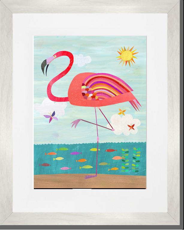 Flamboyant Flamingo, Beach & Ocean Art Prints   Oopsy daisy