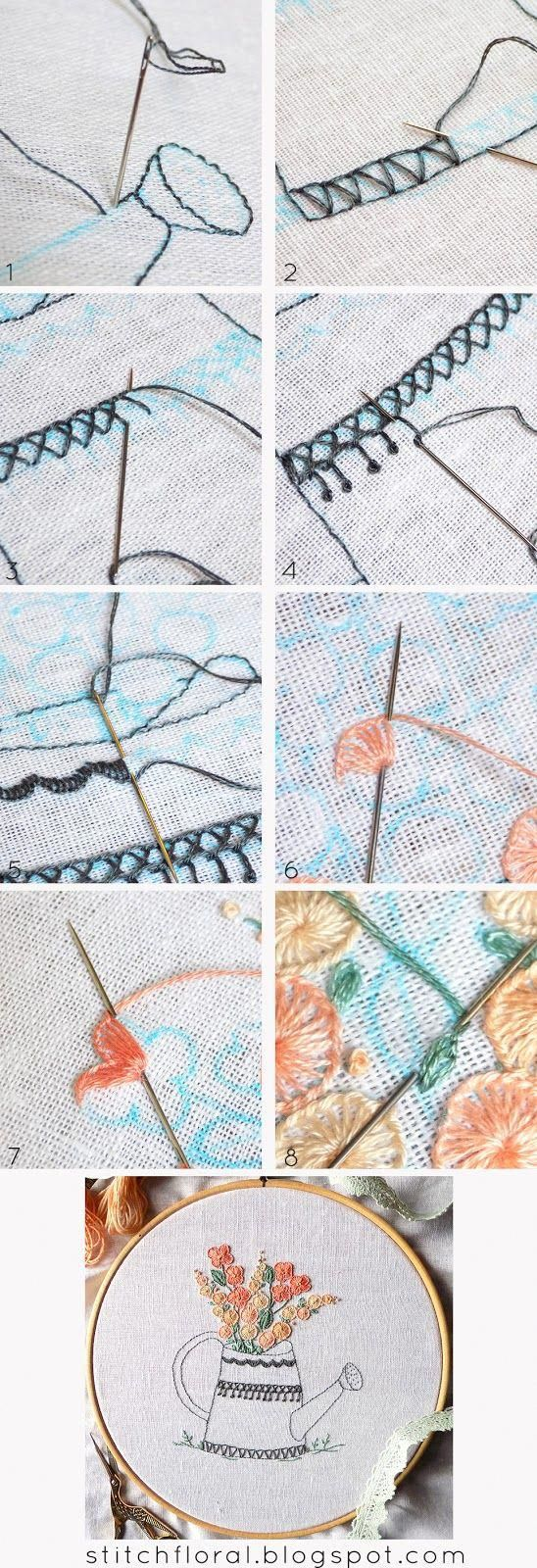 Embroidery: A beginner's step-by-step guide to stiches and ...