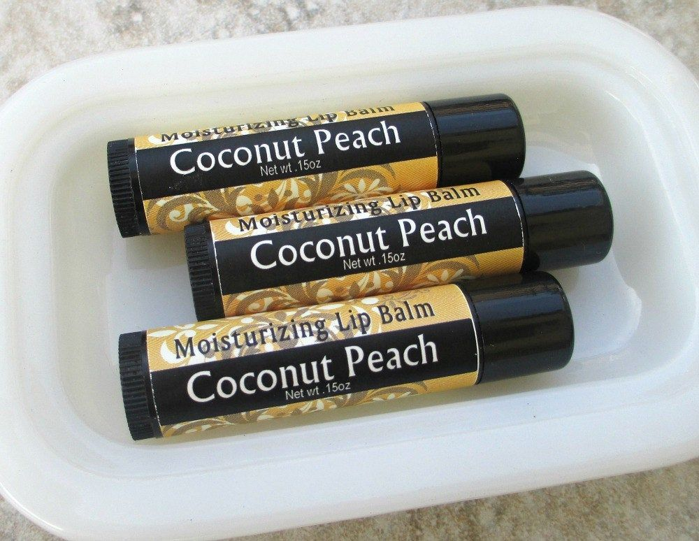 Peachy coconutty goodness in a lip balm. Might be cold where you are, but you can always taste the tropical flavor. And, it moisturizes dry lips into lusciousness...what's not to love? My tried and true recipe, made from the goodness of beeswax, sweet almond butter, shea oil, natural Vitamin E, castor oil, and flavor. Simple and perfect. .15oz twist up tube (the size you already know and love), shrinkwrapped for freshness. Try a tube today! Want more than one? Check out our 3pack deal for even m
