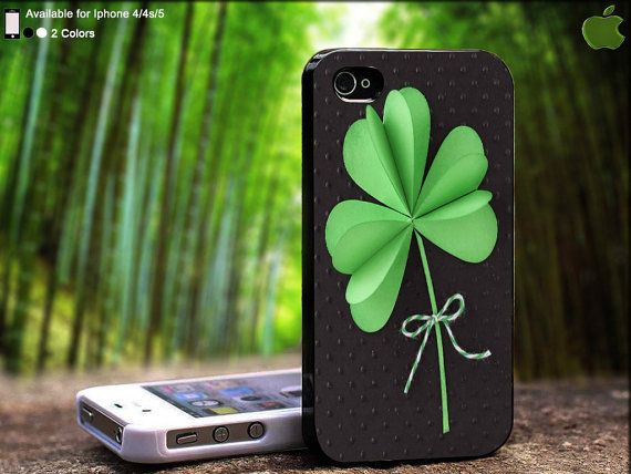 St. Patrick Days Gift With Three Clover Leaf Design by SidePucket, $14.89