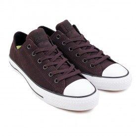 07faf3d1e086 Converse Cons CTAS Pro OX Shoes in Black Cherry   Black   White - Pair