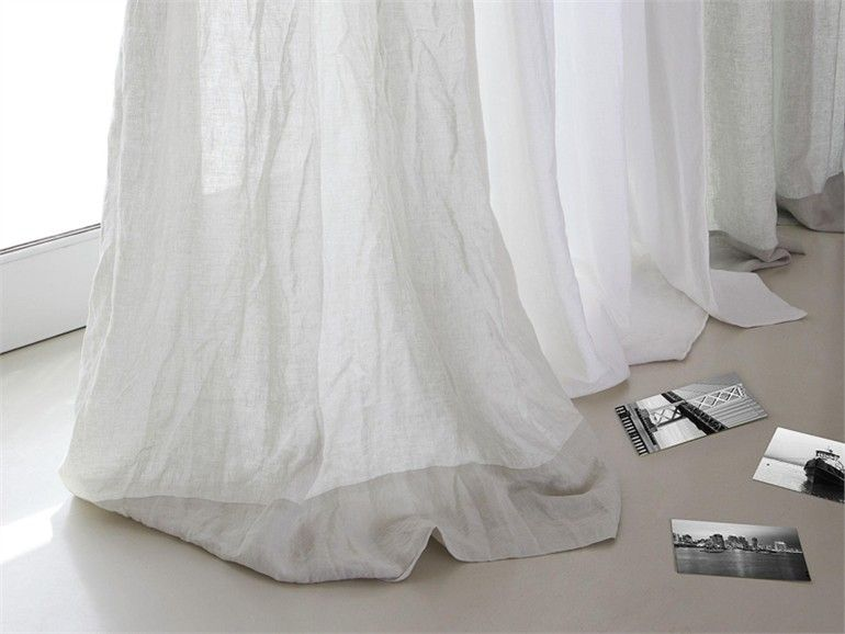 Linen Curtain LINO SHABBY - Mastro Raphael | For the Home ...