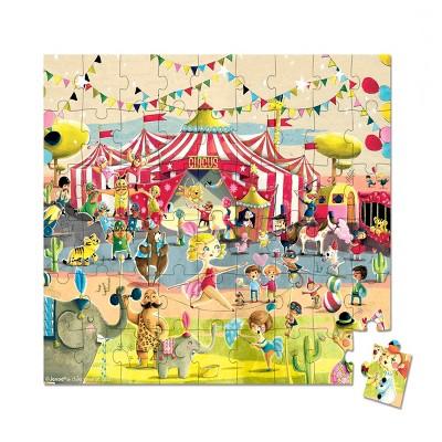 Janod Hat Box Puzzle - Circus