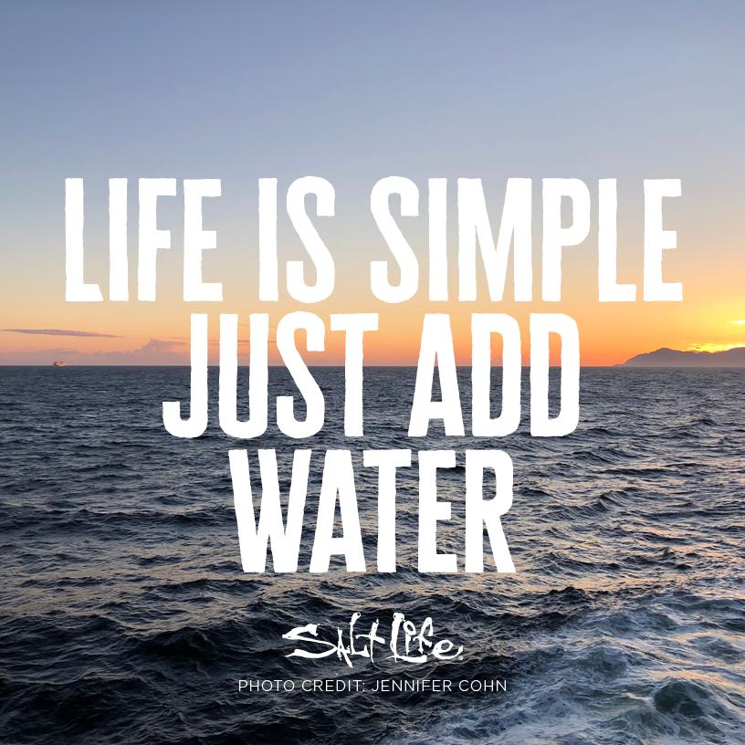 It S That Simple Salt Life Beach Quotes Life