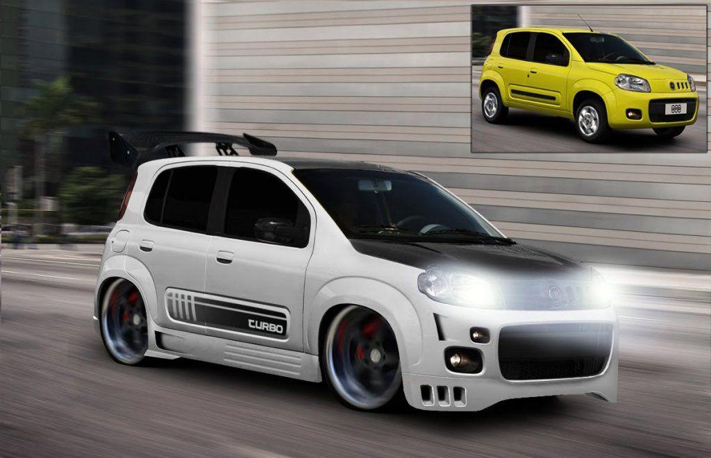 Novo Fiat Uno Tunado  42