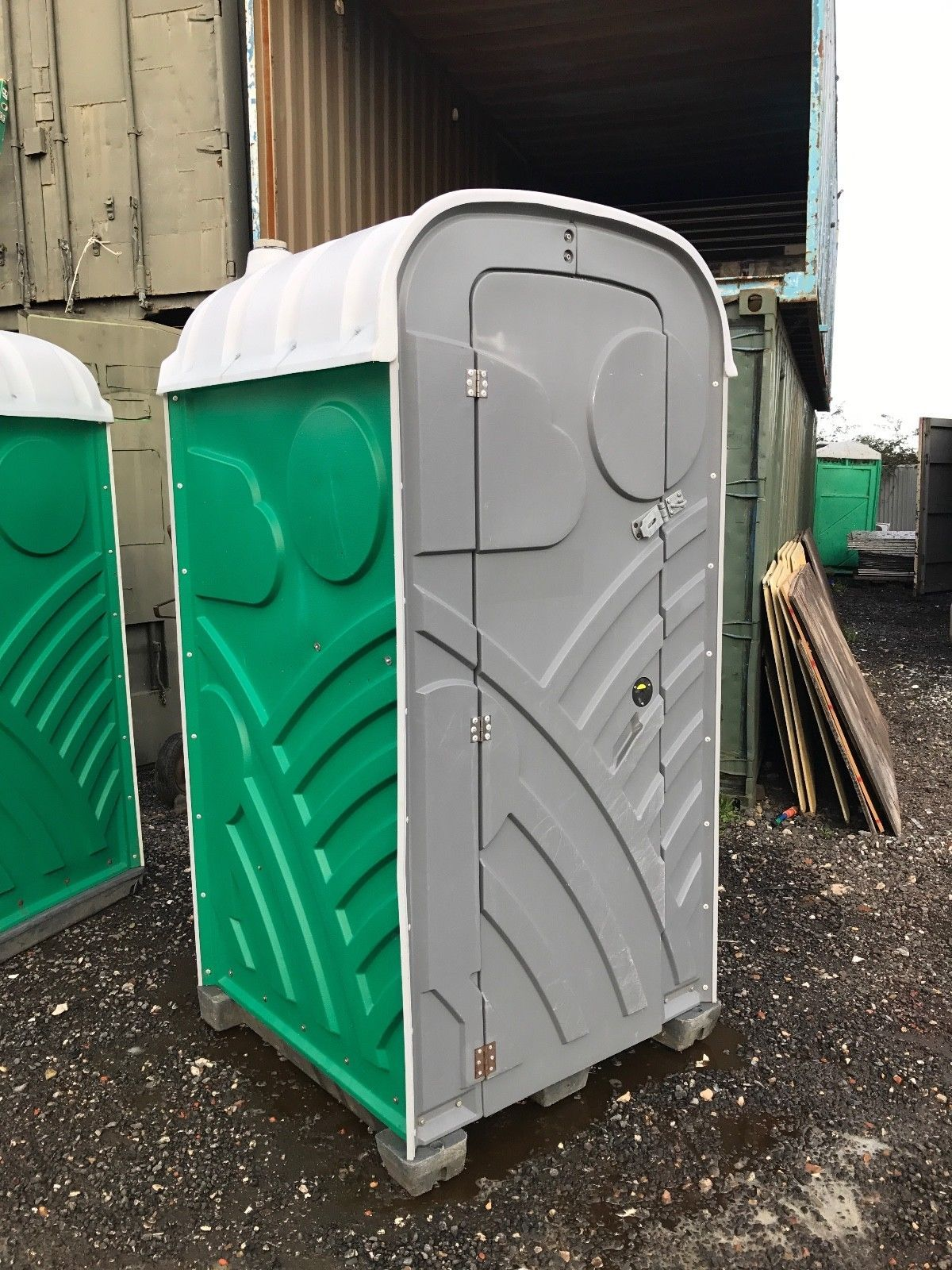 4ft X 4ft Chemical Toilet Builders Loo Site Toilet Portable Toile Used Trucks Plants Online Outdoor Storage Box