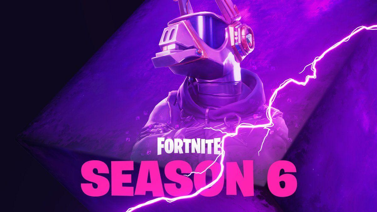 First Fortnite Season 6 Teaser Released Fortnite Fortnite Bilder Nintendo