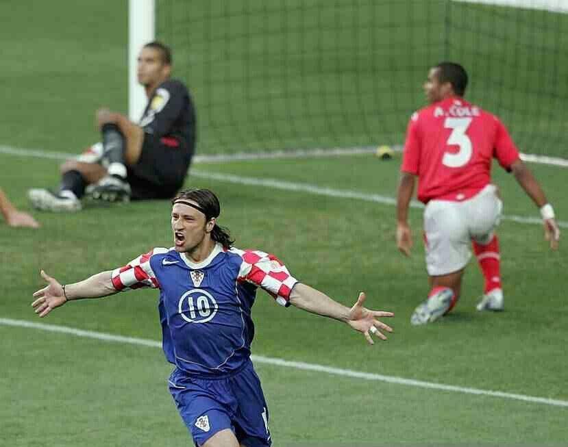 England 4 Croatia 2 in 2004 in Lisbon. Niko Kovac scored