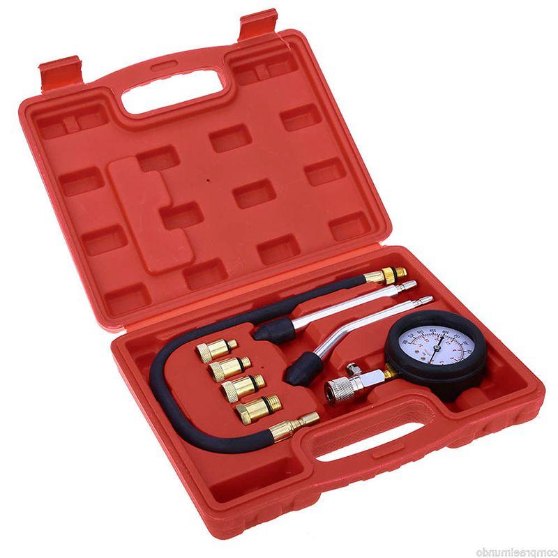 New Engine Cylinder Pressure Gauge Compression Tester