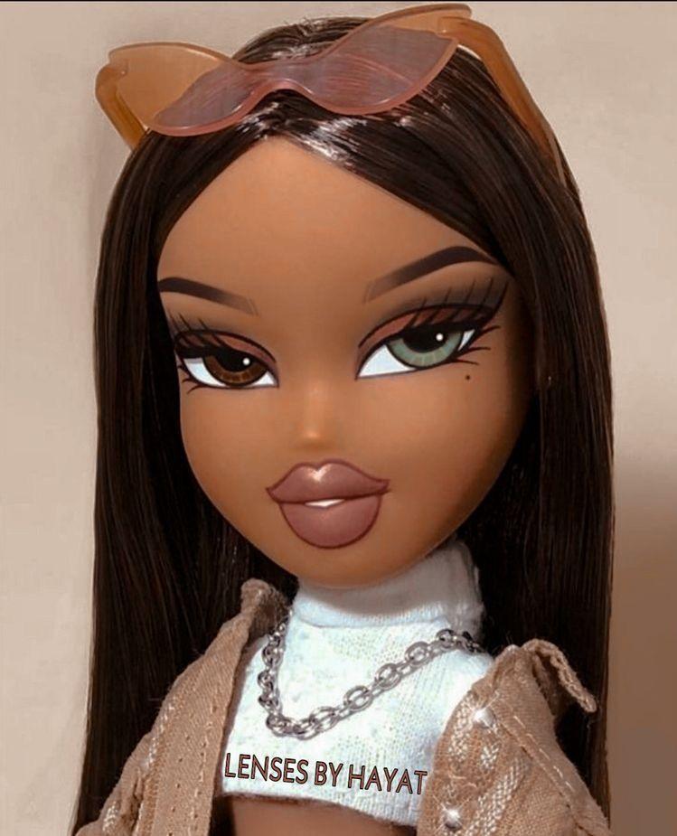 period black bratz doll brat doll doll aesthetic