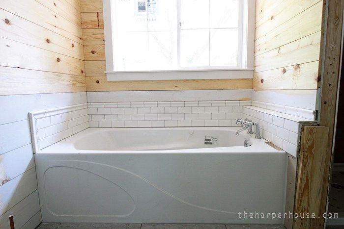 Flip House Master Bath Updates Subway tiles, Bath and Bath ideas