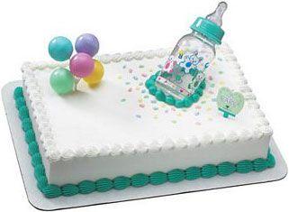 Easy Baby Shower Cakes For Boys Easy Baby Bottle Shower Cake