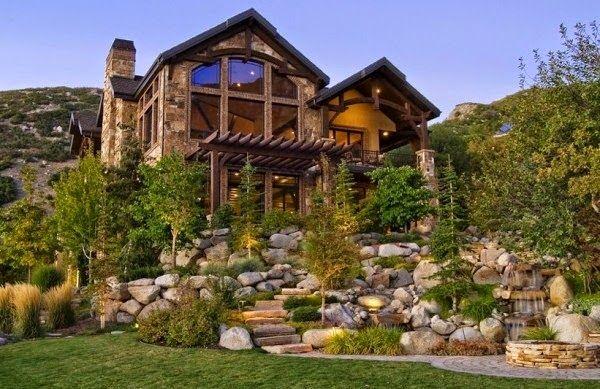 Fachadas de casas r sticas fachadas de casas diferentes - Casas rusticas de madera ...