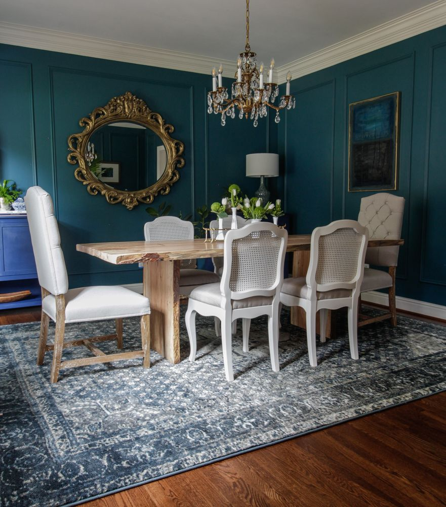 50 Best Dining Room Sets For 2017: One Room Challenge Fall 2017/ Deep & Moody Dining Room
