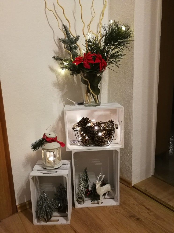 Pin de Vianey Gutierrez en Navidad Pinterest Navidad, Decoración - decoraciones navideas para el hogar