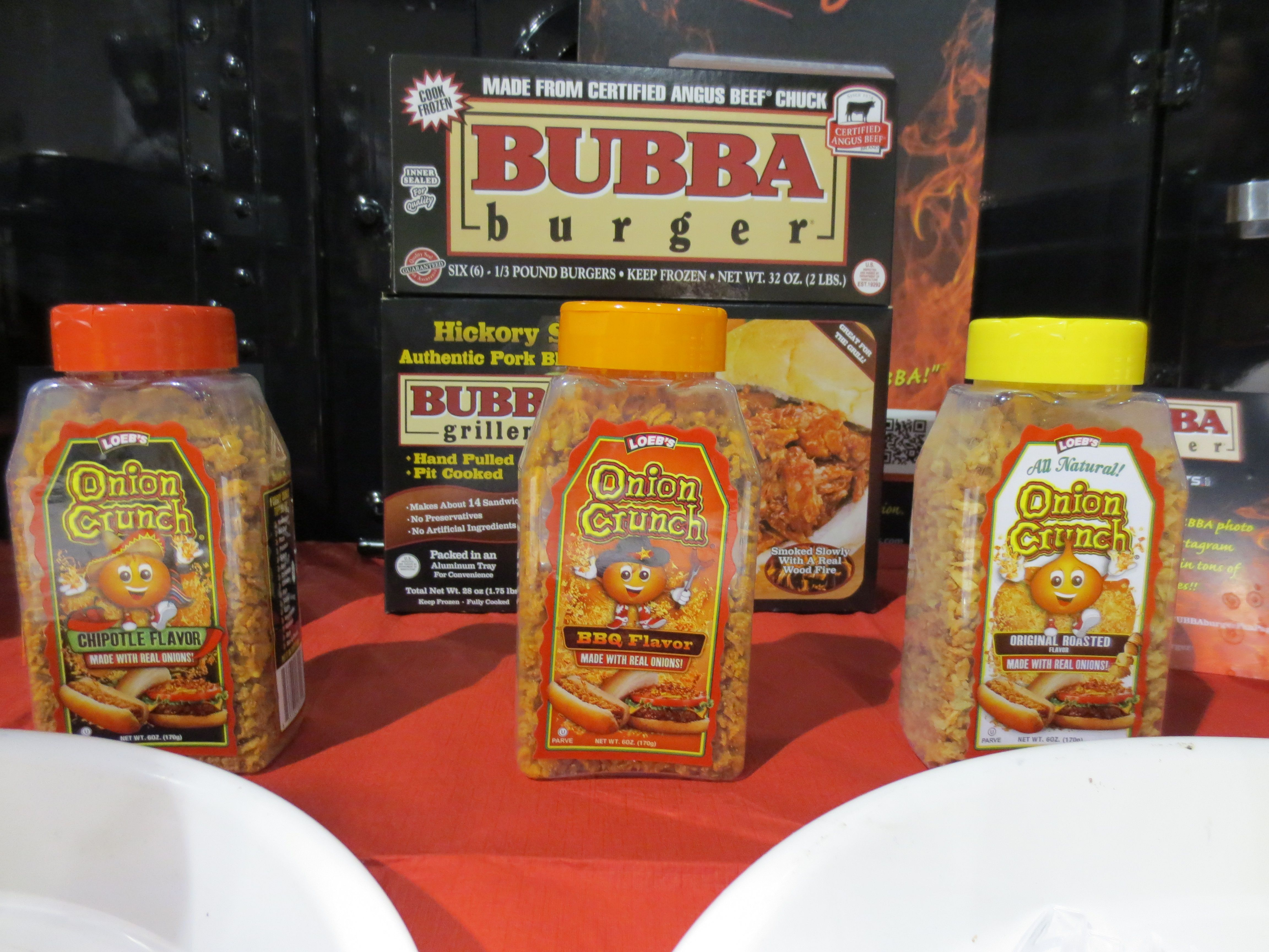 BUBBA Burgers and Onion Crunch