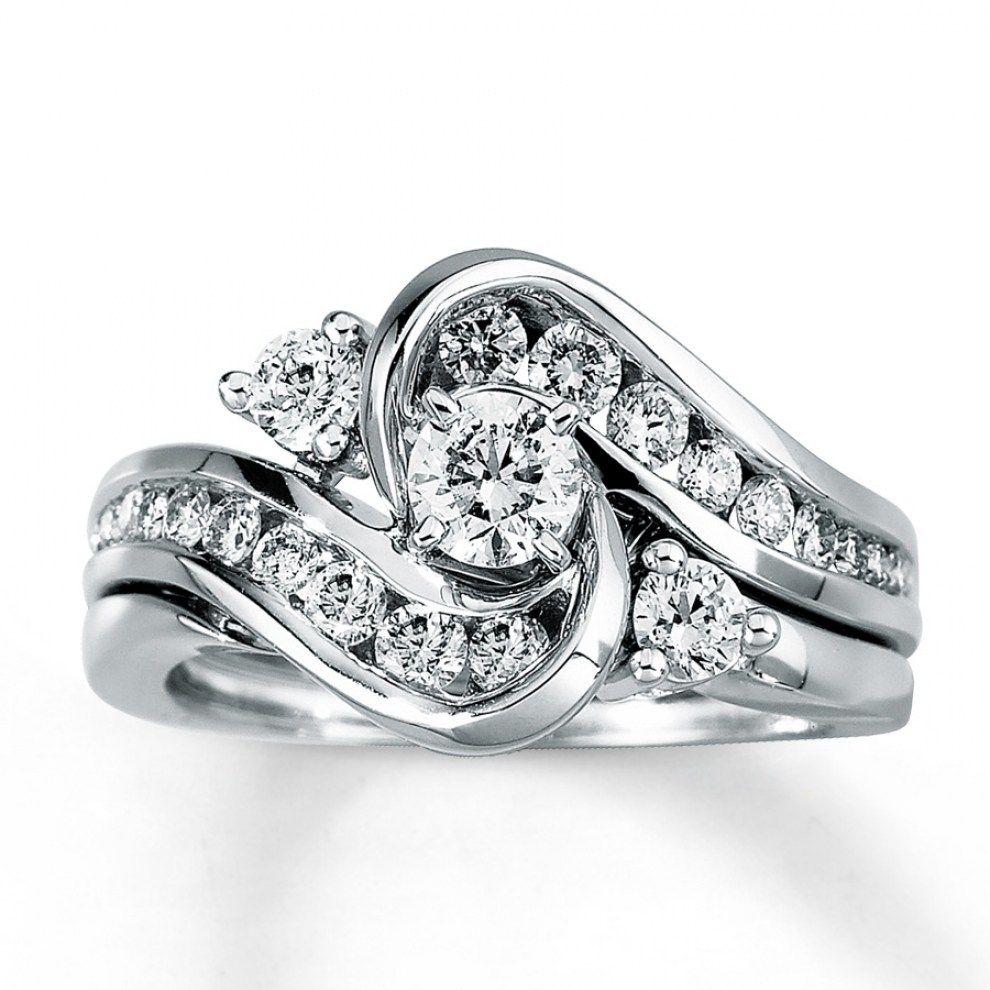 fbc7a748bfa7d 30 Best Cheap Wedding Ring Sets White Gold   Wedding Inspirations ...
