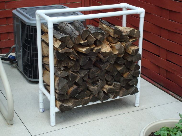 Small Firewood Storage Rack In Home Improvement Workshop Projects