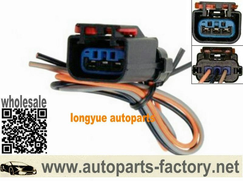 longyue 2pcs ignition coil connector wiring harness case for dodge wiring harness connectors dodge wiring harness connectors #4