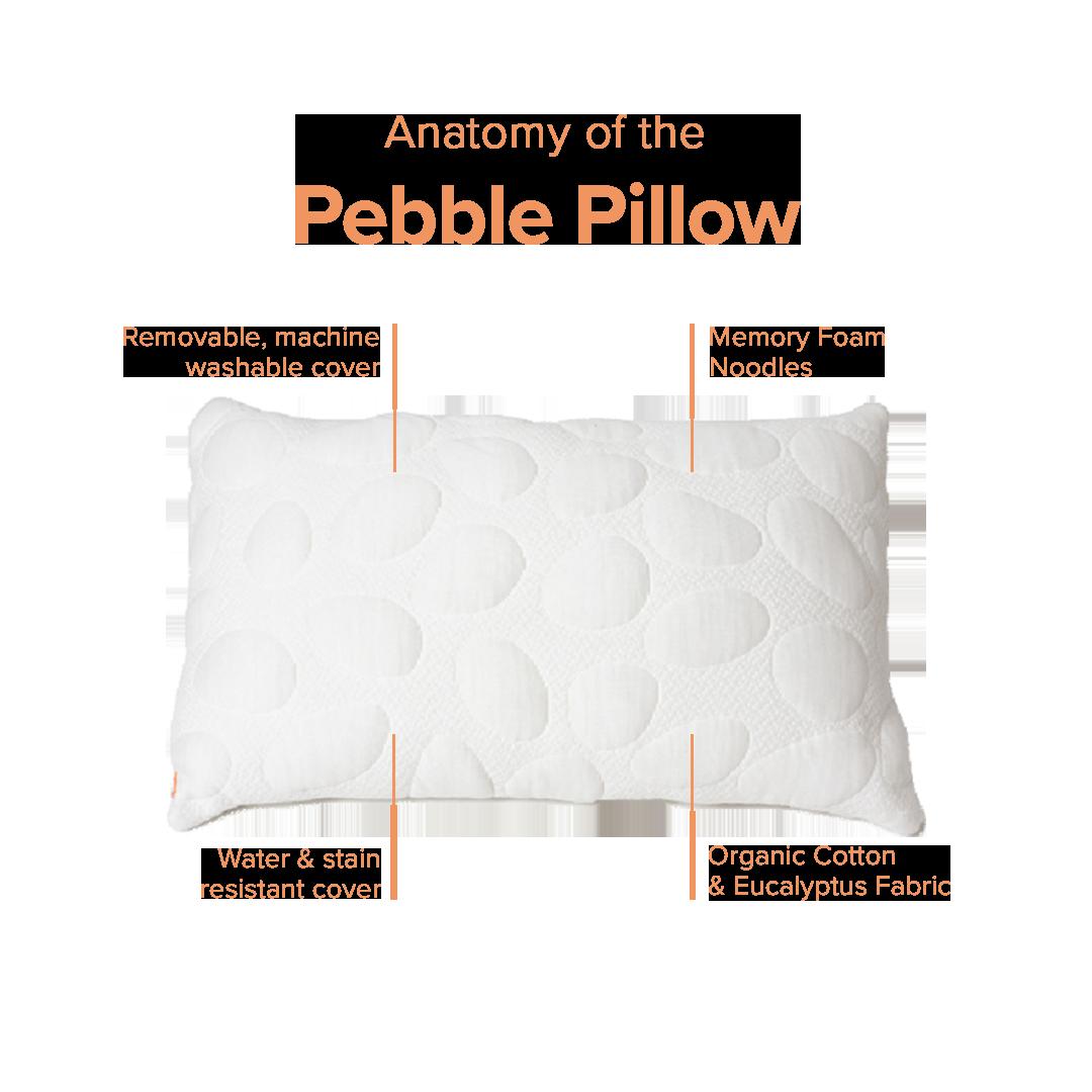 Pebble Pillow Pillows Most Comfortable Pillow Toddler Pillow