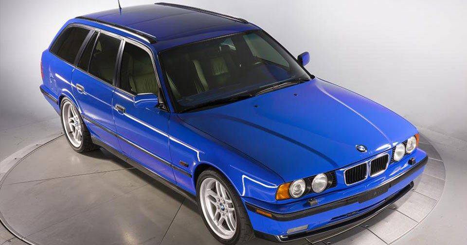 Santorini Blue 95 Bmw M5 Touring Individual Is One Of Two Bmw