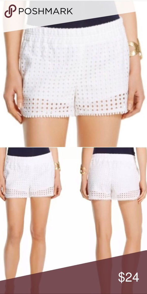 2b9388365be68 Lilly Pulitzer for Target Women's Eyelet Shorts Lilly Pulitzer for Target  Women's Eyelet Shorts - White