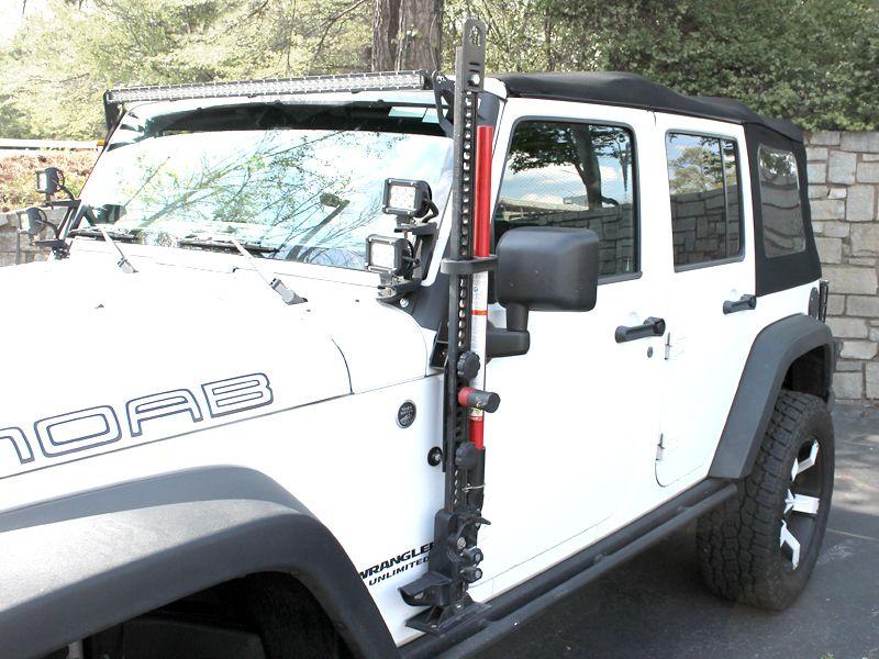 Bolt J Mount Hi Lift Jack Mount For 97 16 Jeep Wrangler Jk Jk