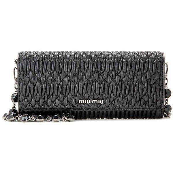 5 colors  wholesale price f3634 ca3f5 Miu Miu Matelassé Leather Shoulder Bag  (3 d8e165dac7c46