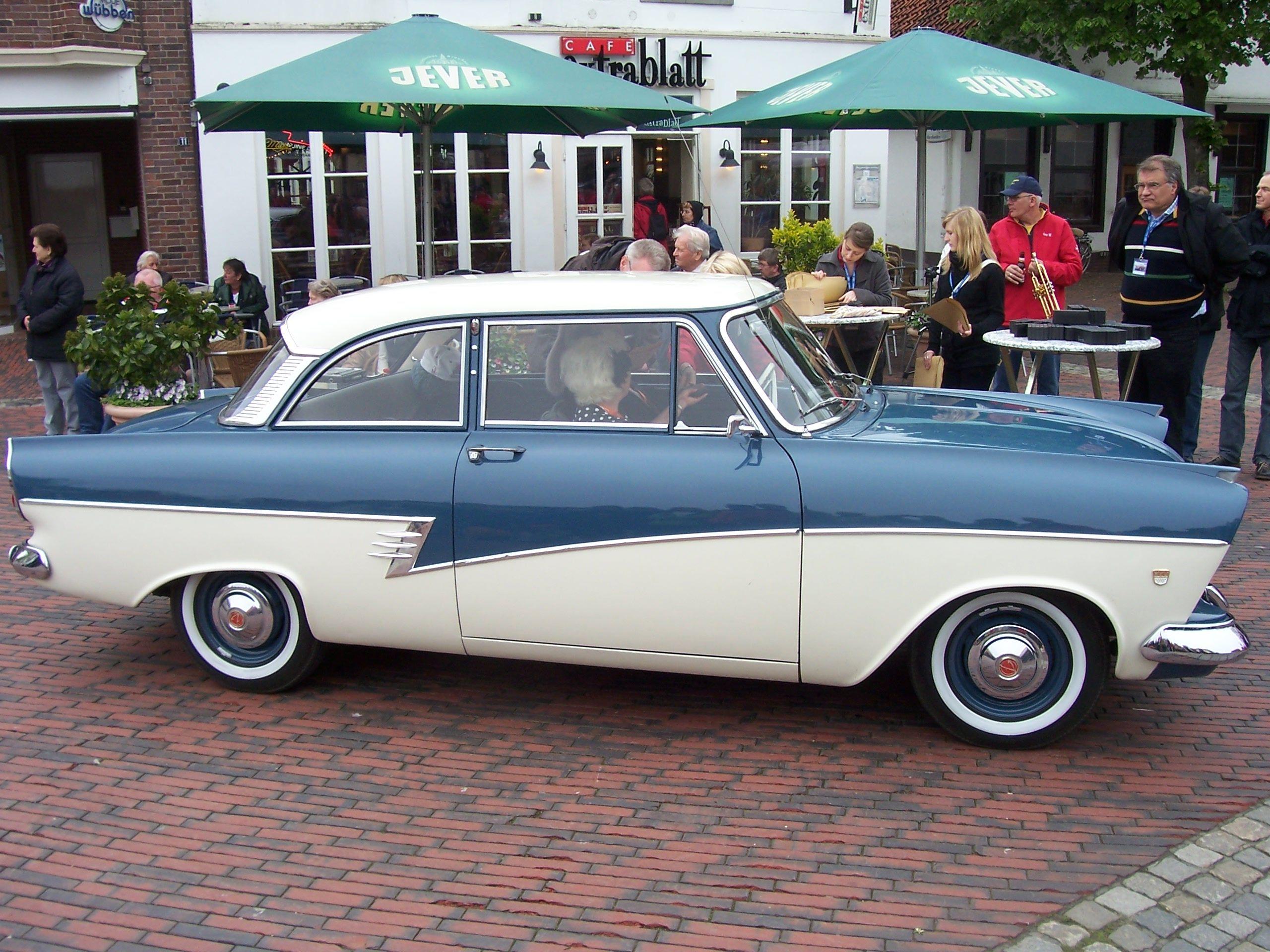 1958 ford taunus 17 m p2 ford taunus ford. Black Bedroom Furniture Sets. Home Design Ideas